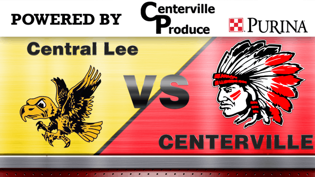Centerville Softball vs Central Lee G...