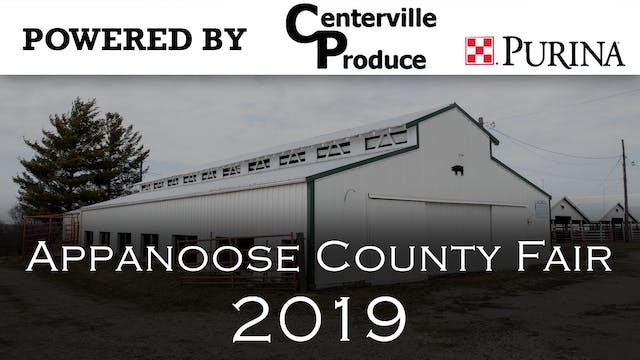 2019 Appanoose County Fair- Fair Dedi...
