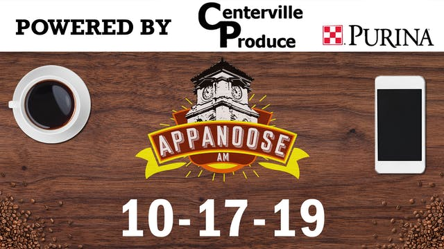 Appanoose AM 10-17-19