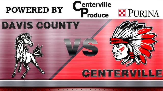 Centerville Wrestling Vs Davis County...