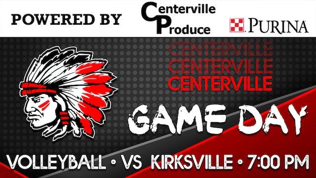 Centerville Volleyball vs Kirksville 10-5-20