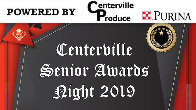 2019 Centerville Senior Awards Night 5-13-19