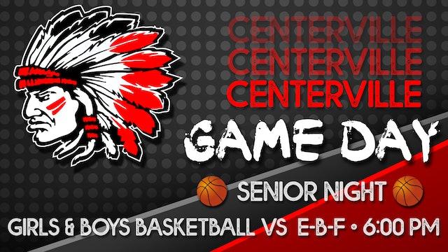 Centerville Girls JV Basketball vs Eddyville