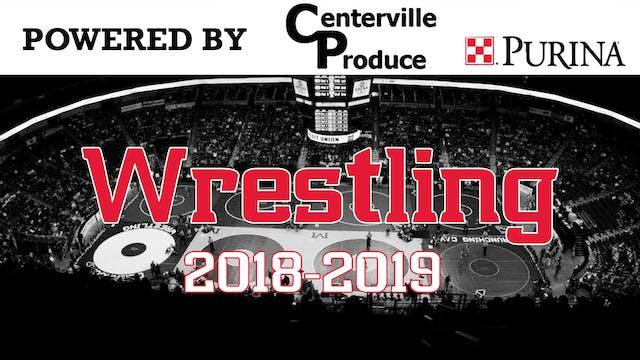 2018-19 Wrestling Senior Night