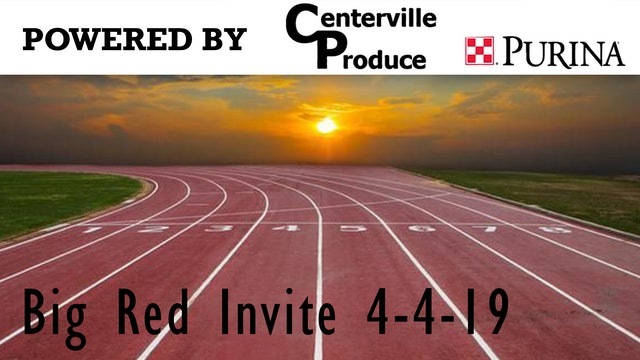 Big Red Track Invite 4-4-19