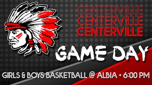 Centerville Boys Basketball vs Albia 1-19-21