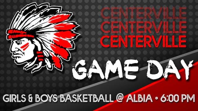 Centerville Boys Basketball vs Albia ...