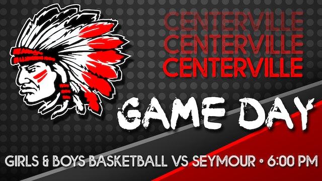 Centerville Boys Basketball vs Seymour 1-14-21