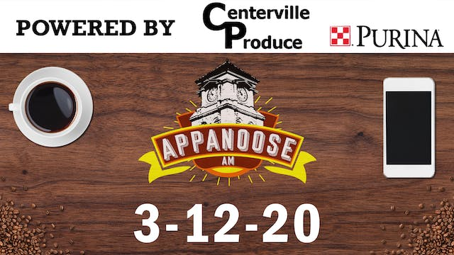 Appanoose AM 3-12-20