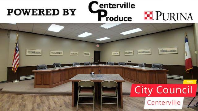 Centerville City Council 9-21-20