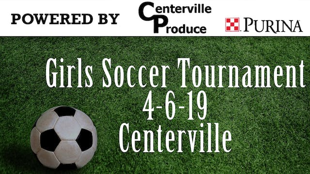 GIrls Soccer Tournament 4-6-19 Center...