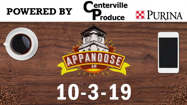 Appanoose AM 10-3-19