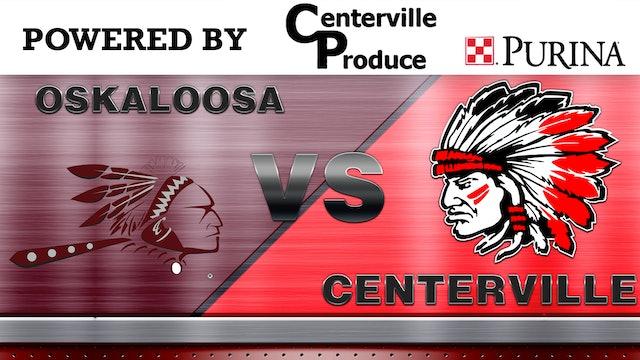 Centerville vs. Oskaloosa Boys Varsity Basketball 1-28-13
