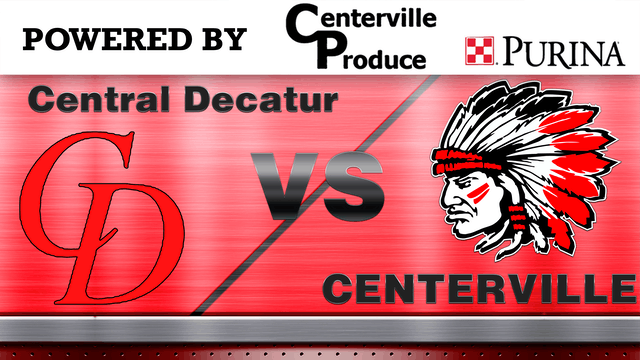 Centerville Softball vs Central Decat...