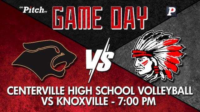 Centerville JV1/JV2 Volleyball vs Knoxville 10-5-21
