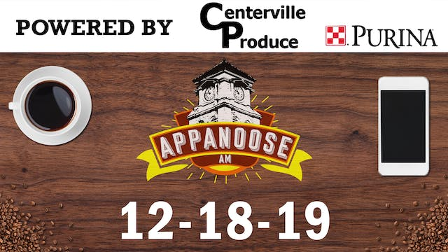 Appanoose AM 12-18-19