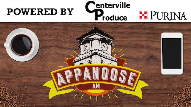 Appanoose AM 10-6-20