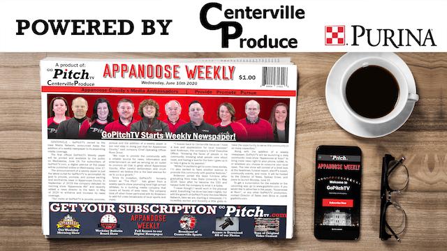 Appanoose Weekly - GoPitchTV's Weekly...