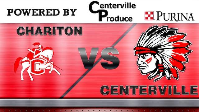 Centerville vs. Chariton Boys Varsity...