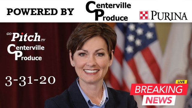Governor Kim Reynolds Press Conference 3-31-20