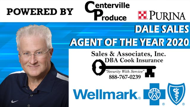 Dale Sales - Wellmark Agent of the Year