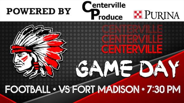 Centerville Football vs Ft. Madison 9...