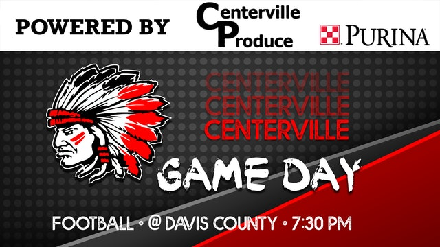 Centerville Football vs Davis County 8-28-20