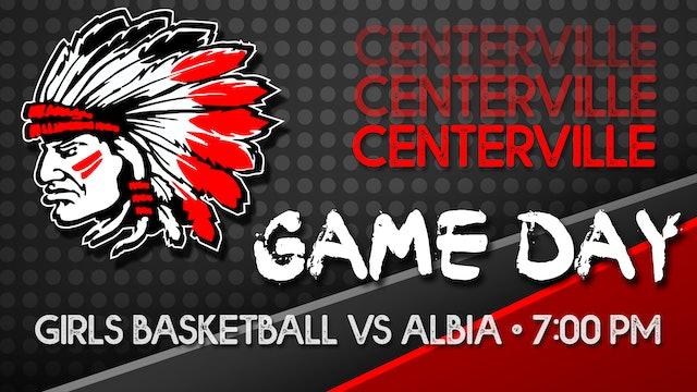 Centerville Varsity Girls Basketball vs Albia 12-11-20
