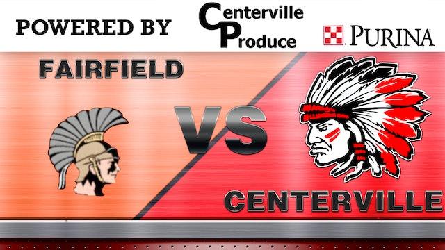 Centerville Baseball vs Fairfield 6-30-20