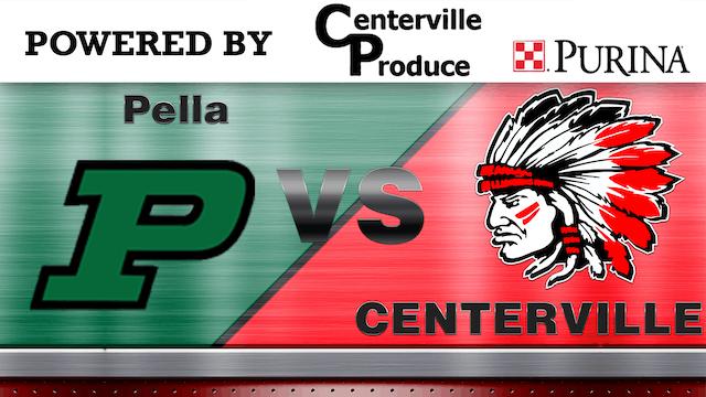 Centerville vs. Pella Boys Varsity Basketball 2-11-13