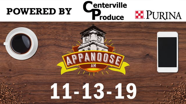 Appanoose AM 11-13-19