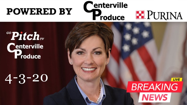 Governor Kim Reynolds-Press Conference 4-3-20