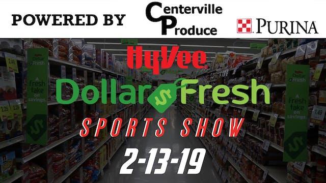 HyVee Sports Show 2-13-19