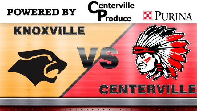 Centerville Baseball vs Knoxville 7-1-20