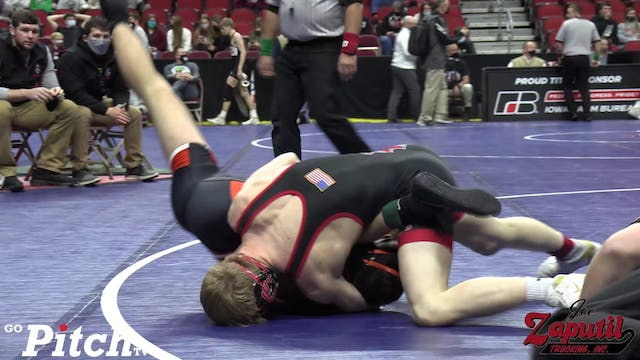 Matthew Lewis pins Andres Cantillo in...