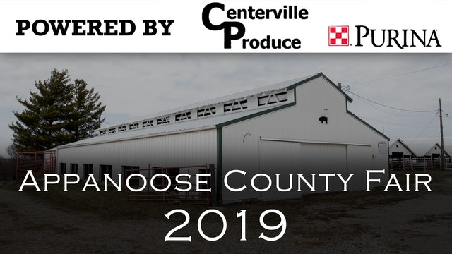 2019 Appanoose County Fair- Norris Price Scholarship 7-15-19