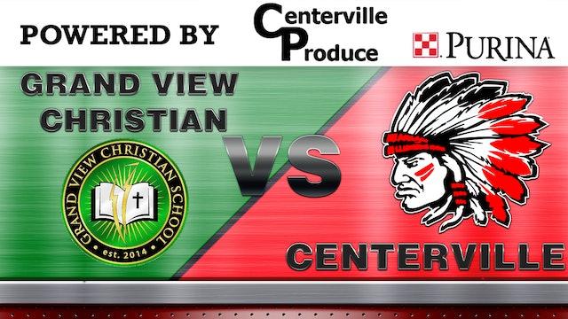 Centerville Boys Basketball vs Grandview Chrstian 12-20-18