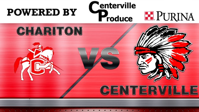 Centerville Boys Basketball vs Chariton 12-17-19