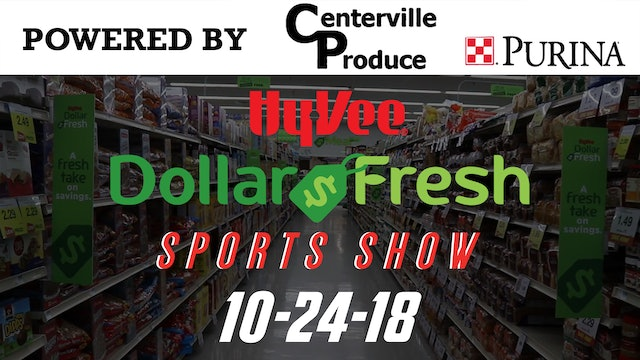 HyVee Sports Show Fall Finale 10-24-18