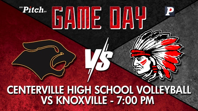 Centerville Varsity Volleyball vs Knoxville 10-5-21 - Part 2