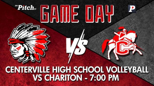 Centerville Varsity Volleyball vs Chariton 9-7-21