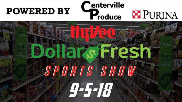 HyVee Sports Show 9-5-18