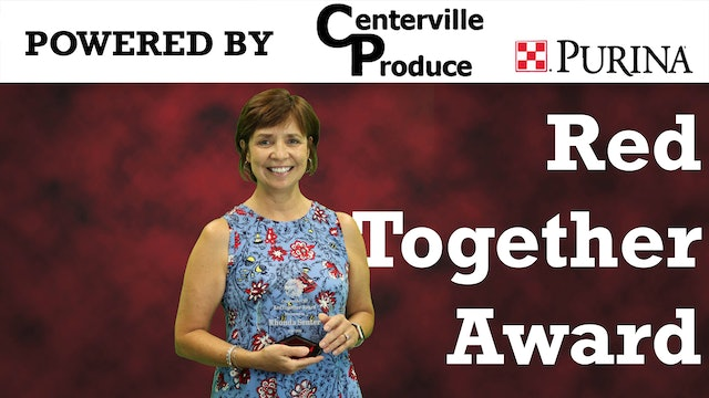Rhonda Senter Receives Red Together Award 2020