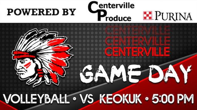 Centerville Volleyball vs Keokuk 10-5-20