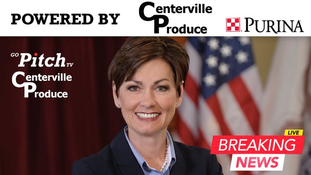 Governor Kim Reynolds Press Conferenc...