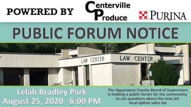 Public Forum on New Jail & Local Opti...