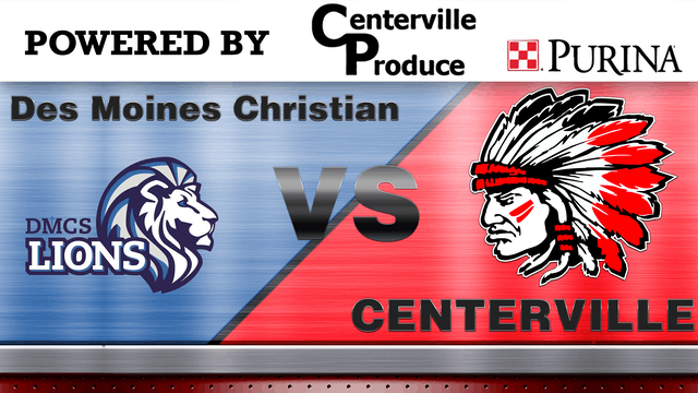 Centerville Football vs Des Moines Christian 9-21-18