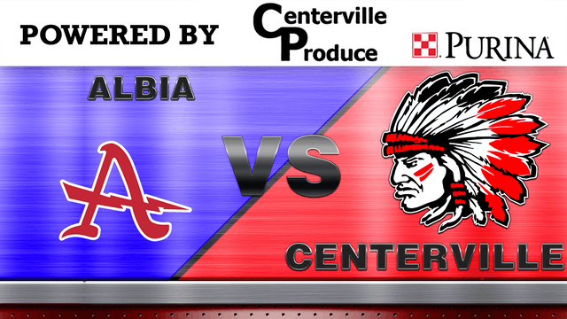Centerville Boys Basketball vs Albia 1-21-20