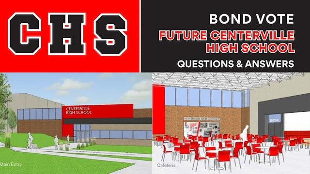 Centerville New High School GO bond Issue Q&A