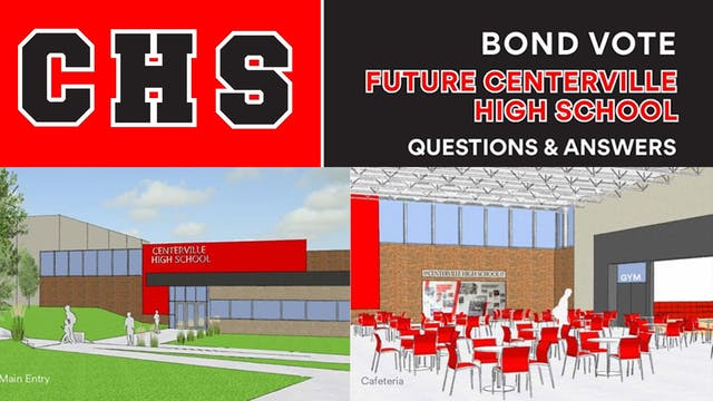 Centerville New High School GO bond I...